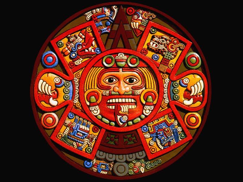 Calendario Azteca Ni  Os